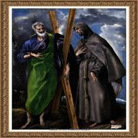 西班牙著名宗教画肖像画画家埃尔格列柯El Greco绘画作品高清图片 (93)