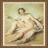 法国洛可可风格画派画家弗朗索瓦布歇Francois Boucher油画作品高清图片肖像画古典宫廷油画高清图片 (232)