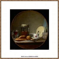 法国著名静物画家夏尔丹Jean Baptiste Siméon静物画巨匠夏尔丹油画作品高清图片 (76)