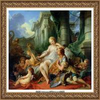 法国洛可可风格画派画家弗朗索瓦布歇Francois Boucher油画作品高清图片肖像画古典宫廷油画高清图片 (235)