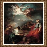 法国洛可可风格画派画家弗朗索瓦布歇Francois Boucher油画作品高清图片肖像画古典宫廷油画高清图片 (17)