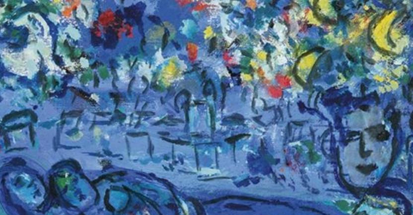 马克·夏加尔Marc Chagall-抽象画展(一)