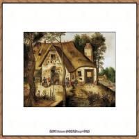 彼得勃鲁盖尔Bruegel Pieter荷兰画家油画作品高清图片 (55)