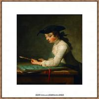 法国著名静物画家夏尔丹Jean Baptiste Siméon静物画巨匠夏尔丹油画作品高清图片 (68)