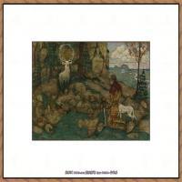 奥地利绘画大师埃贡席勒 Egon Schiele油画作品高清大图席勒绘画作品高清图片 (63)