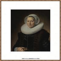 荷兰17世纪著名肖像画家德克哈尔斯Dirck Hals油画人物作品高清图片 (28)