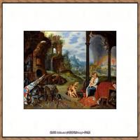 彼得勃鲁盖尔Bruegel Pieter荷兰画家油画作品高清图片 (60)
