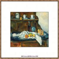 法国著名画家保罗塞尚Paul Cézanne印象派油画作品高清图片塞尚静物画塞尚风景画图片 (146)