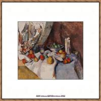 法国著名画家保罗塞尚Paul Cézanne印象派油画作品高清图片塞尚静物画塞尚风景画图片 (155)