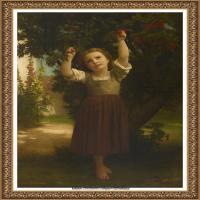 法国学院派画家威廉阿道夫布格罗Bouguereau Adolphe William油画人物高清图片 (61)