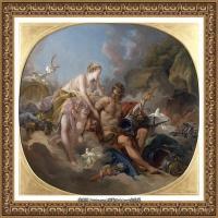 法国洛可可风格画派画家弗朗索瓦布歇Francois Boucher油画作品高清图片肖像画古典宫廷油画高清图片 (224)