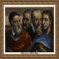 西班牙著名宗教画肖像画画家埃尔格列柯El Greco绘画作品高清图片 (77)