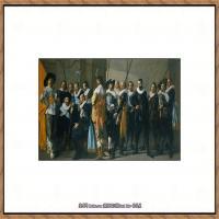 荷兰17世纪著名肖像画家德克哈尔斯Dirck Hals油画人物作品高清图片 (3)