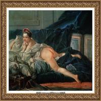 法国洛可可风格画派画家弗朗索瓦布歇Francois Boucher油画作品高清图片肖像画古典宫廷油画高清图片 (262)