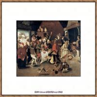 彼得勃鲁盖尔Bruegel Pieter荷兰画家油画作品高清图片 (68)