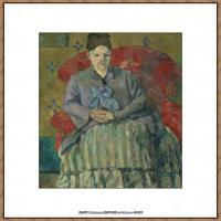 法国著名画家保罗塞尚Paul Cézanne印象派油画作品高清图片塞尚静物画塞尚风景画图片 (132)