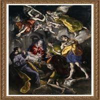 西班牙著名宗教画肖像画画家埃尔格列柯El Greco绘画作品高清图片 (76)