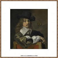 荷兰17世纪著名肖像画家德克哈尔斯Dirck Hals油画人物作品高清图片 (1)