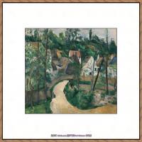 法国著名画家保罗塞尚Paul Cézanne印象派油画作品高清图片塞尚静物画塞尚风景画图片 (152)