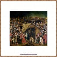 彼得勃鲁盖尔Bruegel Pieter荷兰画家油画作品高清图片 (49)