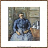 法国著名画家保罗塞尚Paul Cézanne印象派油画作品高清图片塞尚静物画塞尚风景画图片 (145)