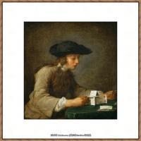 法国著名静物画家夏尔丹Jean Baptiste Siméon静物画巨匠夏尔丹油画作品高清图片 (59)