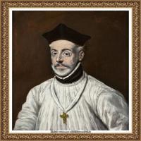 西班牙著名宗教画肖像画画家埃尔格列柯El Greco绘画作品高清图片 (138)
