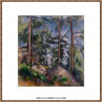 法国著名画家保罗塞尚Paul Cézanne印象派油画作品高清图片塞尚静物画塞尚风景画图片 (127)