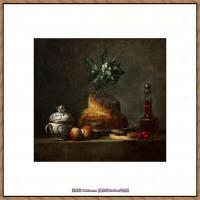 法国著名静物画家夏尔丹Jean Baptiste Siméon静物画巨匠夏尔丹油画作品高清图片 (65)
