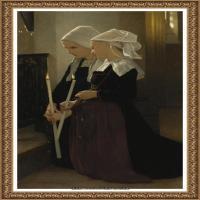 法国学院派画家威廉阿道夫布格罗Bouguereau Adolphe William油画人物高清图片 (69)