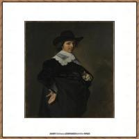 荷兰17世纪著名肖像画家德克哈尔斯Dirck Hals油画人物作品高清图片 (35)