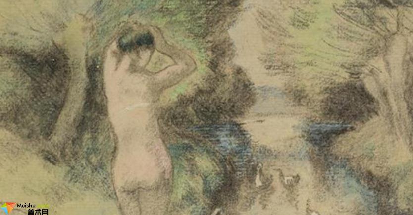 法國(印象派)德加-素描展