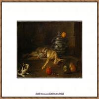 法国著名静物画家夏尔丹Jean Baptiste Siméon静物画巨匠夏尔丹油画作品高清图片 (12)