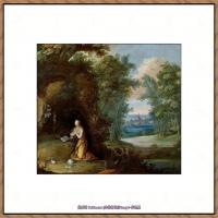 彼得勃鲁盖尔Bruegel Pieter荷兰画家油画作品高清图片 (43)