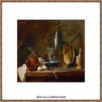 法国著名静物画家夏尔丹Jean Baptiste Siméon静物画巨匠夏尔丹油画作品高清图片 (15)