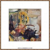 俄裔美籍画家尼古拉费申Nicolai Ivanovich Fechin油画作品高清图片 (47)