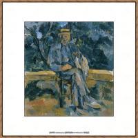 法国著名画家保罗塞尚Paul Cézanne印象派油画作品高清图片塞尚静物画塞尚风景画图片 (131)
