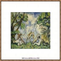法国著名画家保罗塞尚Paul Cézanne印象派油画作品高清图片塞尚静物画塞尚风景画图片 (109)