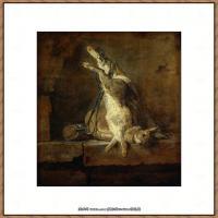 法国著名静物画家夏尔丹Jean Baptiste Siméon静物画巨匠夏尔丹油画作品高清图片 (17)