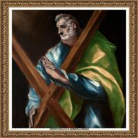 西班牙著名宗教画肖像画画家埃尔格列柯El Greco绘画作品高清图片 (125)
