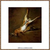 法国著名静物画家夏尔丹Jean Baptiste Siméon静物画巨匠夏尔丹油画作品高清图片 (29)