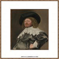 荷兰17世纪著名肖像画家德克哈尔斯Dirck Hals油画人物作品高清图片 (21)