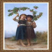 法国学院派画家威廉阿道夫布格罗Bouguereau Adolphe William油画人物高清图片 (79)