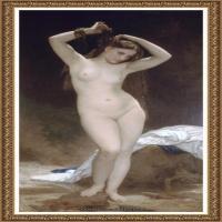 法国学院派画家威廉阿道夫布格罗Bouguereau Adolphe William油画人物高清图片 (87)