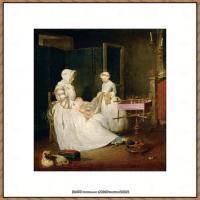 法国著名静物画家夏尔丹Jean Baptiste Siméon静物画巨匠夏尔丹油画作品高清图片 (22)