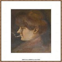 奥地利绘画大师埃贡席勒 Egon Schiele油画作品高清大图席勒绘画作品高清图片 (80)
