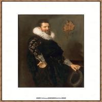 荷兰17世纪著名肖像画家德克哈尔斯Dirck Hals油画人物作品高清图片 (40)