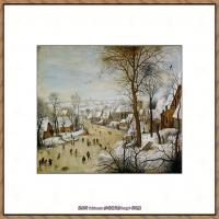 彼得勃鲁盖尔Bruegel Pieter荷兰画家油画作品高清图片 (42)