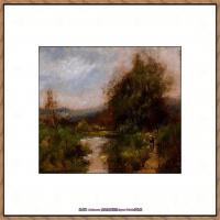 法国印象派艺术家尤金加林拉洛Eugene Galien Laloue巴黎风景印象油画高清大图 (37)
