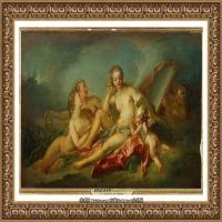 法国洛可可风格画派画家弗朗索瓦布歇Francois Boucher油画作品高清图片肖像画古典宫廷油画高清图片 (246)